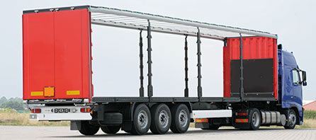Toits Curtain Sider