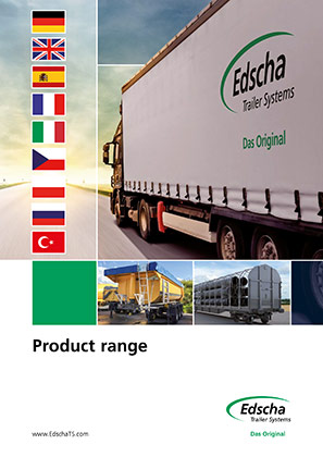 Product range Edscha Trailer Systems (available in 9 languages)