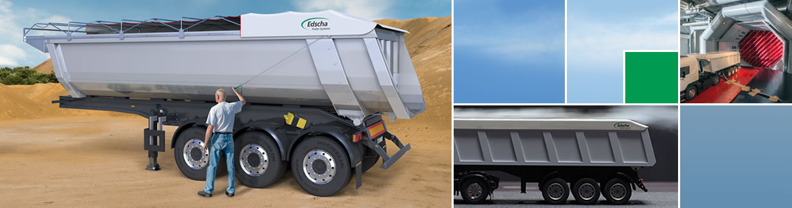 TipperRoof - Edscha TS quality for tippers